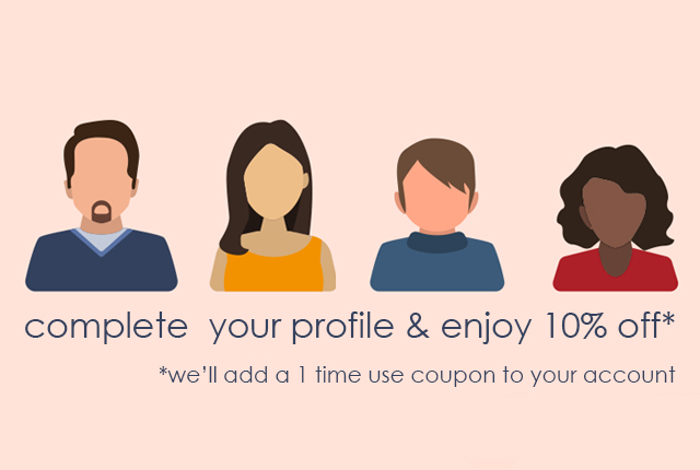 Complete your profile promotion