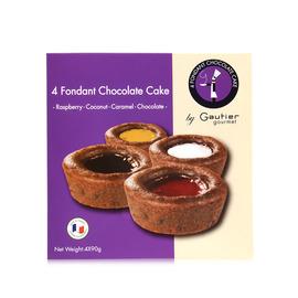 高笛美食 岩浆巧克力蛋糕(4种口味)