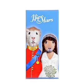 宠物名人 牛奶巧克力(明星王子与王妃图案)(巧克力制品)
