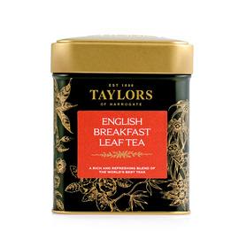 泰勒 英式早餐红茶(罐装) 125克