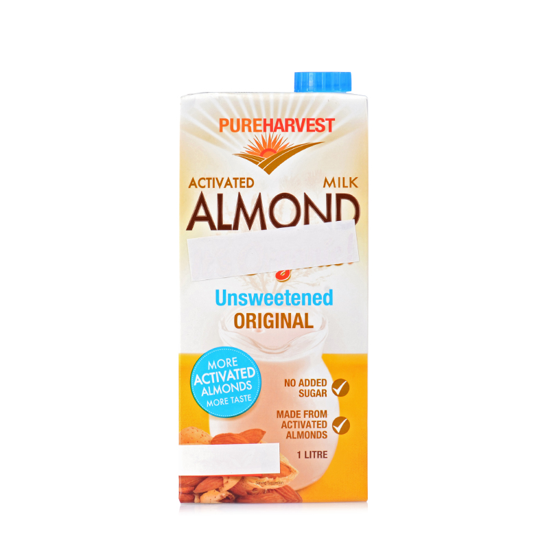 Pureharvest Activated Almond Milk Unsweetened Fields China