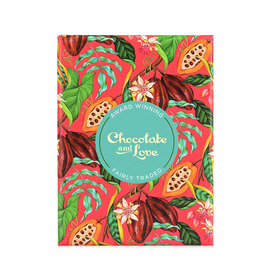 巧克力与爱牌黑巧克力红色小礼盒