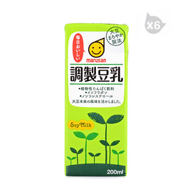 丸三牌調制豆乳飲料(200ml)*6