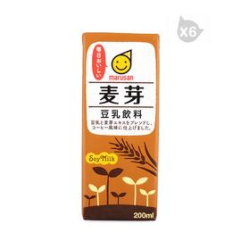 丸三牌豆乳飲料 麥芽(200ml)*6