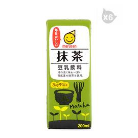 丸三牌豆乳飲料 抹茶(200ml)*6