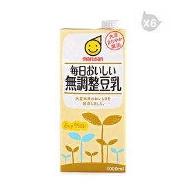 丸三牌 原味豆乳飲料*6