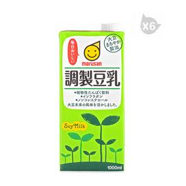 丸三牌調制豆乳飲料(1L)*6