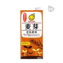 丸三牌豆乳飲料 麥芽(1L)*6