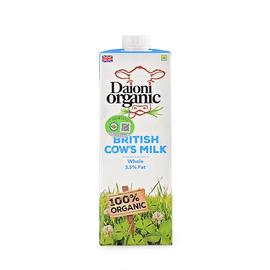綠英寶 有機超高溫滅菌乳(全脂)