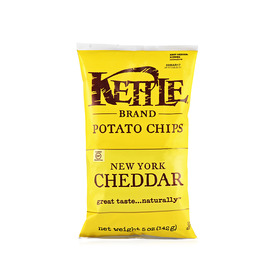 Kettle Brand New York Cheddar Potato Chips (142 g)