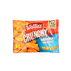 获第冷冻楔形土豆块