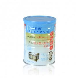 貝拉米 有機嬰兒奶粉(2階段  6-12個月,900克*3)