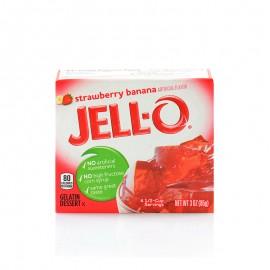 杰乐草莓香蕉味果冻粉 85g