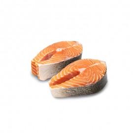 三文魚圓切