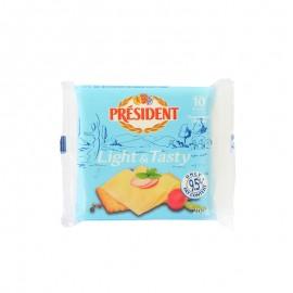 總統淡味再制干酪片200g