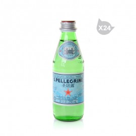 圣培露 充气天然矿泉水(250ml*24)