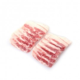 美国 极黑猪 五花肉片(去皮)
