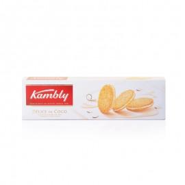 金宝丽牛奶夹心椰丝饼干80克