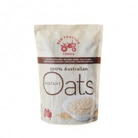 红色拖拉机澳大利亚速食纯燕麦片