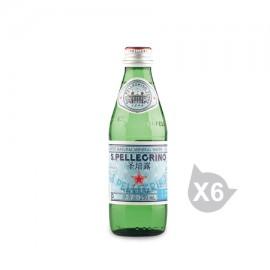 圣培露 充氣天然礦泉水(250ml*6)