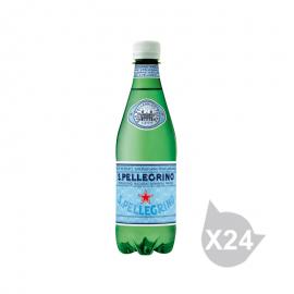 圣培露 充气天然矿泉水(500ml*24)
