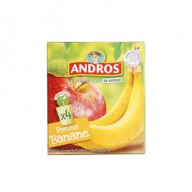 愛果士 蘋果香蕉可吸果泥 90g*4