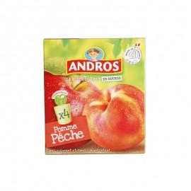 愛果士 蘋果桃可吸果泥 90g*4