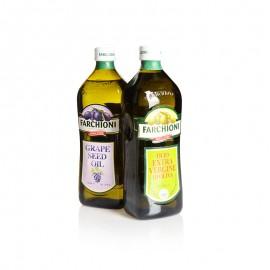 福奇 特级初榨橄榄油&葡萄籽油礼盒装 2*1 L