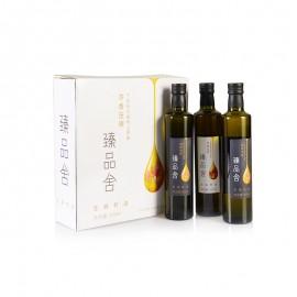 臻品舍亚麻籽油精选礼盒 500 ml*3