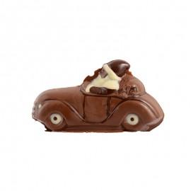 巧克力圣诞老人和小汽车(三色)