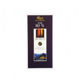 克勒司克里奥罗80%黑巧克力