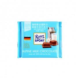 瑞特斯波德 阿爾卑斯牛奶巧克力 100g