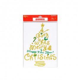 圣诞节 圣诞橱窗贴