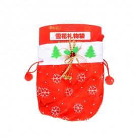 圣诞节 雪花礼物袋