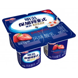 明治 保加利亞式酸奶(草苺果肉)
