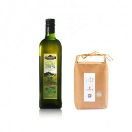 太平之选 特级初榨橄榄油(750毫升)&越光精米1 kg