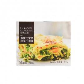 Madeleine Salmon & Spinach Lasagna