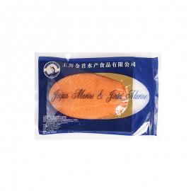 煙熏三文魚切片