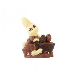 兔妈妈手推车造型巧克力(三色)