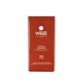 Weiss Acarigua Dark Chocolate Bar
