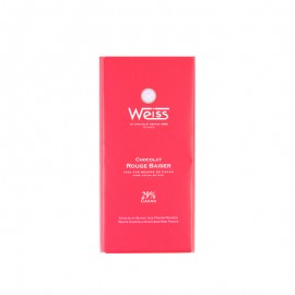 Weiss Rouge Baiser White Chocolate Bar
