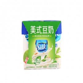 Silk美式豆奶純香低糖原味利樂鉆245ml*4包
