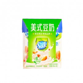 Silk美式豆奶美國巴旦木風味利樂鉆245ml*4包