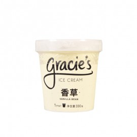 格喜香草冰淇淋 330g