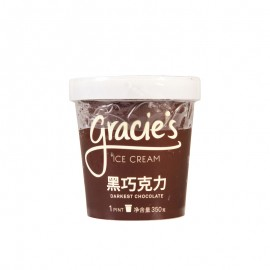 格喜黑巧克力冰淇淋 330g