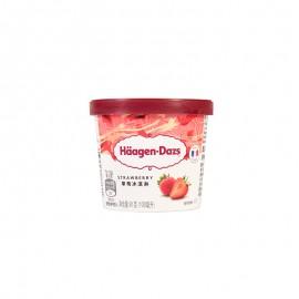 哈根達斯 小杯草莓冰激凌