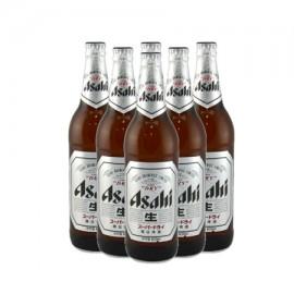 アサヒ スーパードライ生 瓶ビール(630 ml*6)