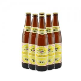 キリン 一番搾り 瓶ビール (600 ml*6本)