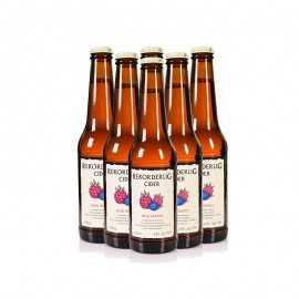 瑞可德林野莓味西打酒330 ml*6