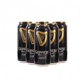 健力士醇黒啤酒*6
